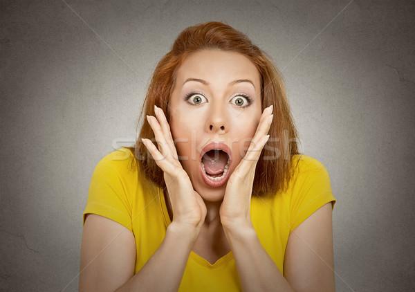 shocked woman  Stock photo © ichiosea