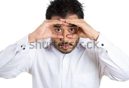 Homem frustração retrato zangado Foto stock © ichiosea
