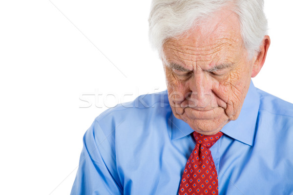 old sleepy manager Stock photo © ichiosea
