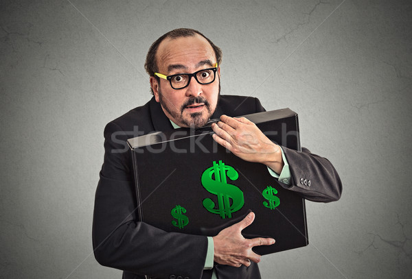 Money greed wealth security Stock photo © ichiosea