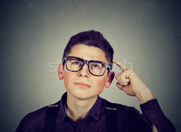 путать мышления человека голову портрет Сток-фото © ichiosea