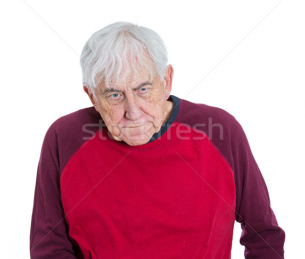 depressed old lonely man Stock photo © ichiosea
