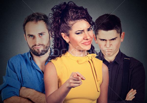 Angry mean people  Stock photo © ichiosea