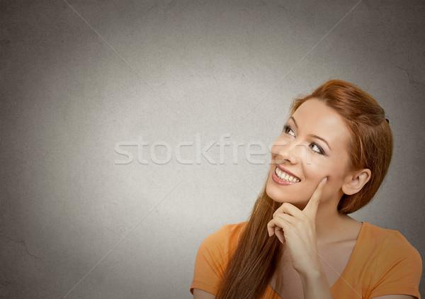 pensive woman daydreaming  Stock photo © ichiosea