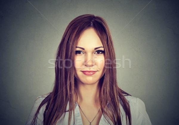 Portrait of an attractive woman  Stock photo © ichiosea