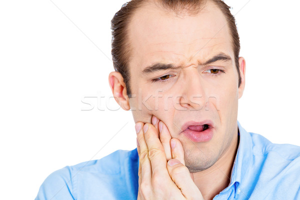 Man with tooth ache Stock photo © ichiosea