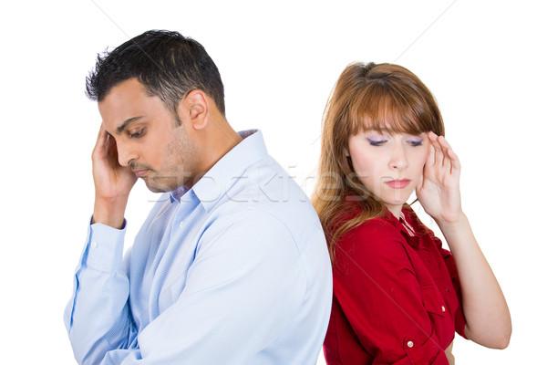 Depressed couple Stock photo © ichiosea