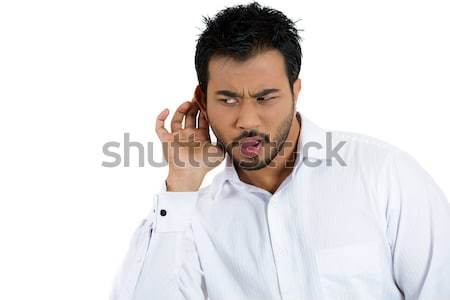 man eavesdropping Stock photo © ichiosea