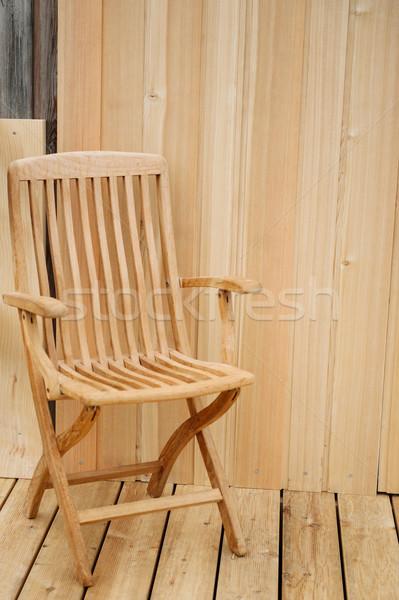 Classic relaxing chair Stock photo © ifeelstock