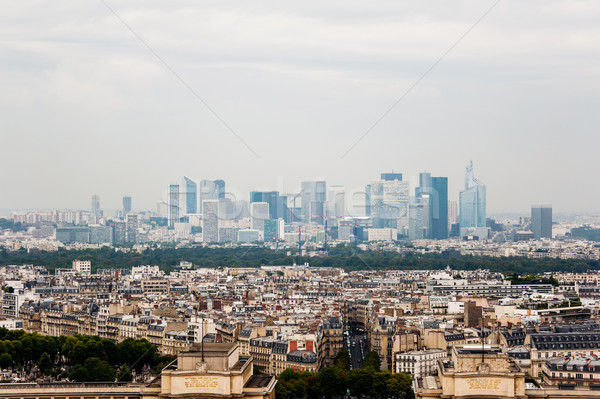 Paris Skyline la défense gratte-ciel district Photo stock © ifeelstock