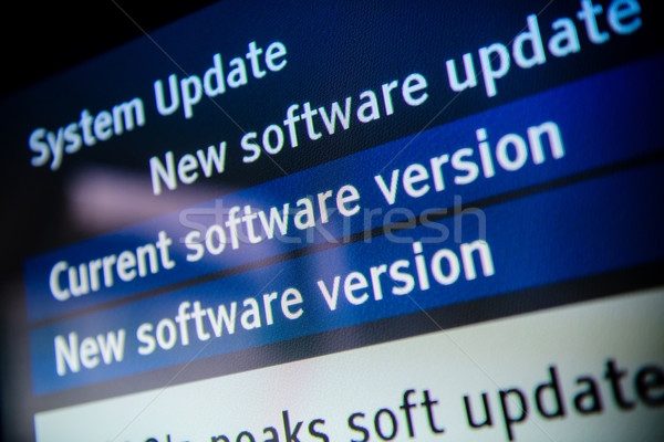 System update software Stock photo © ifeelstock