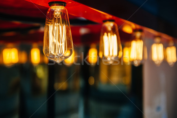 Lighting decor Stock photo © ifeelstock