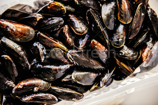 Mussels at market Stock photo © ifeelstock