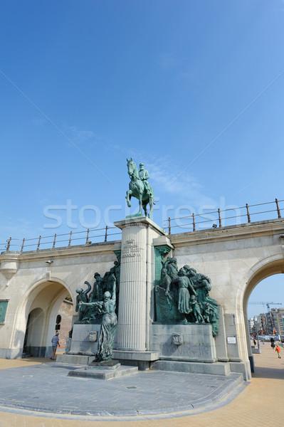 Statue of King Leopold II of Belgium. Stock photo © ifeelstock