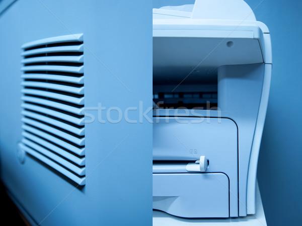 Imprimante fax scanner appareil modernes bureau Photo stock © ifeelstock