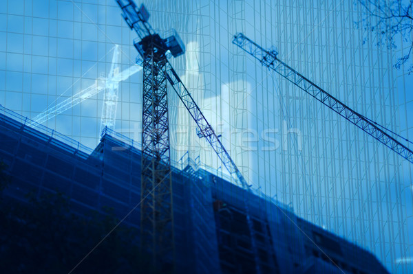 Abstract construction background Stock photo © ifeelstock