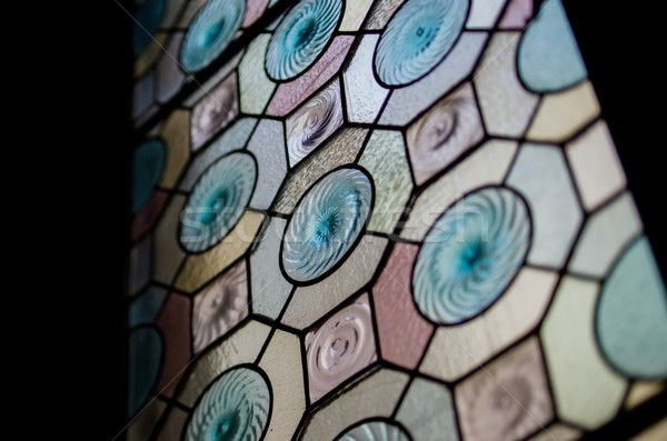Spain stained glass Stock photo © ifeelstock