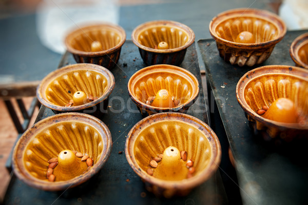 Traditional bundt baking trays Stock photo © ifeelstock