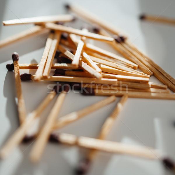 Matches scattered around Stock photo © ifeelstock