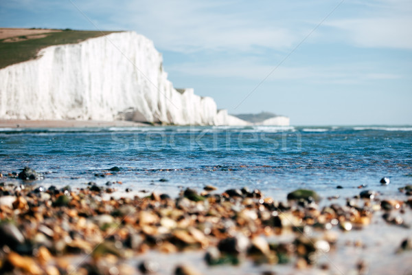White Chalk Cliffs Stock photo © ifeelstock