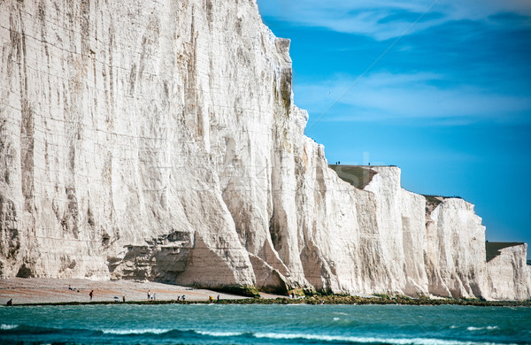 White Chalk Cliffs travel Stock photo © ifeelstock
