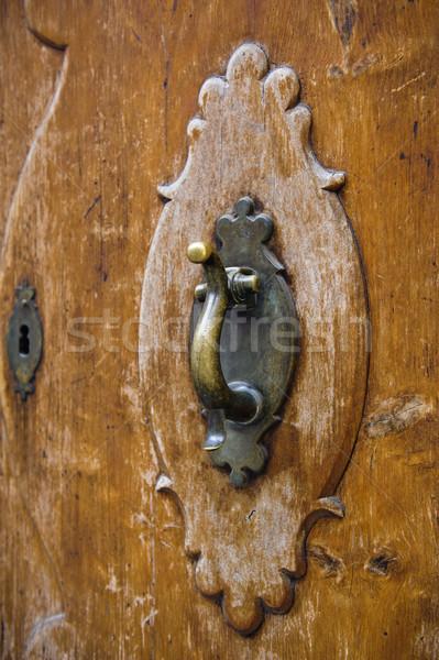 Old door knocker Stock photo © ifeelstock