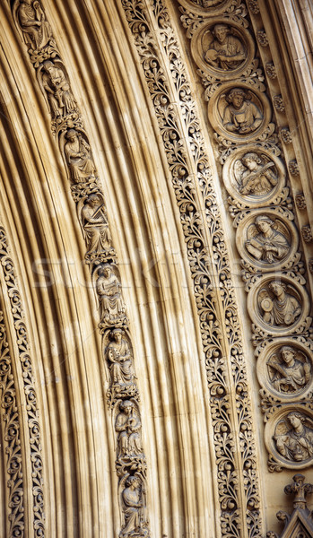 Westminster Abbey main entrance Stock photo © ifeelstock