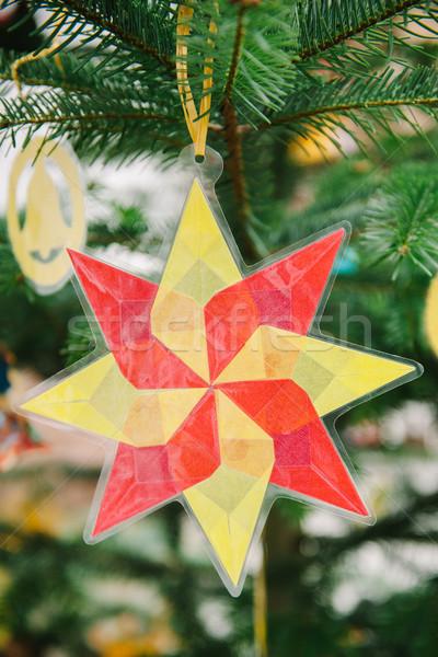 クリスマス 星 中古 プラスチック 伝統的な 手 ストックフォト © ifeelstock