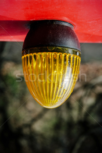 Yellow light alarm on the ceiling Stock photo © ifeelstock