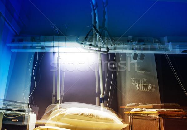 Ospedale stanza view visione paziente medici Foto d'archivio © ifeelstock