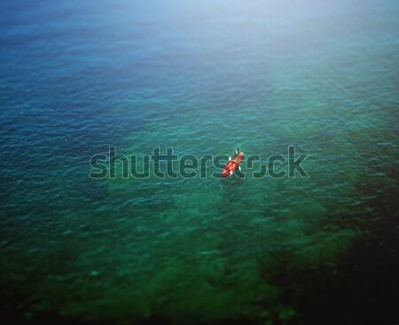 пару широкий синий морем Сток-фото © ifeelstock