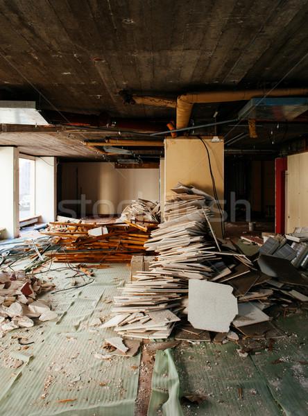Biuro budowy wnętrza sklepu budynku Zdjęcia stock © ifeelstock