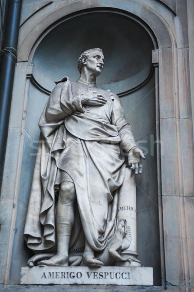 Amerigo Vespucci statue Stock photo © ifeelstock