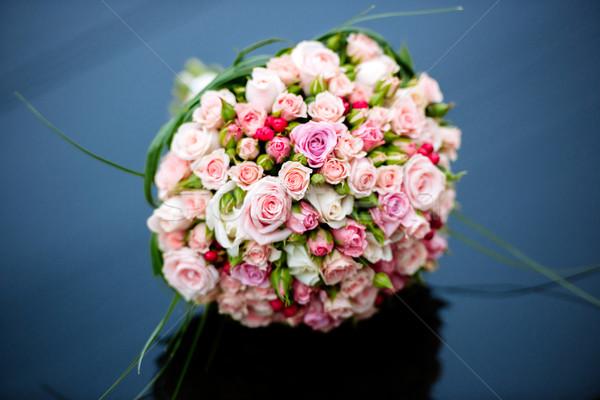 美しい 花束 花 明るい 白 ピンク ストックフォト © ifeelstock
