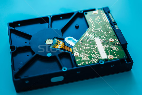 Fast computer hard drive Stock photo © ifeelstock