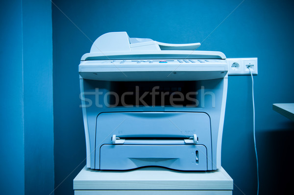 Printer in office Stock photo © ifeelstock