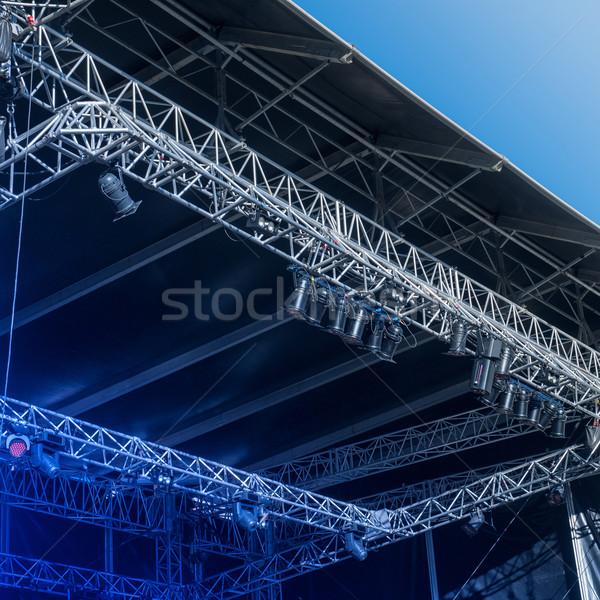 Empty stage before a concert Stock photo © ifeelstock