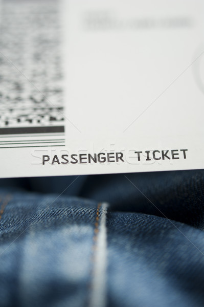 Airline ticket Stock photo © ifeelstock