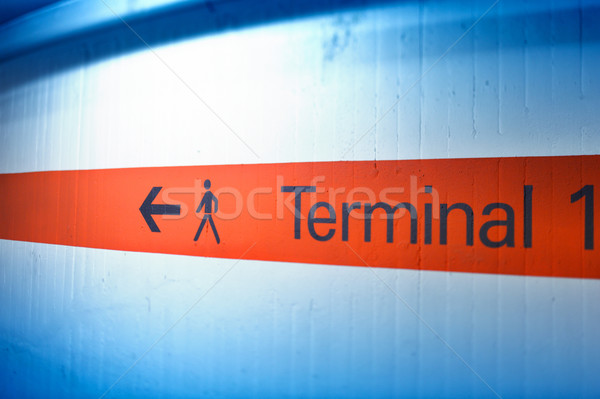 Terminal direction Stock photo © ifeelstock