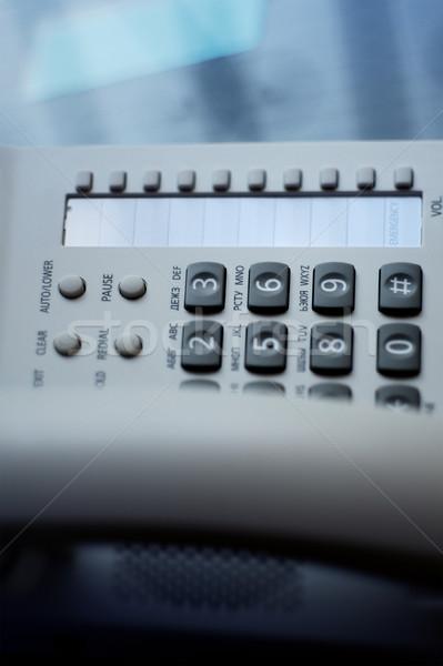 Conférence téléphone boutons résumé numérique voip Photo stock © ifeelstock