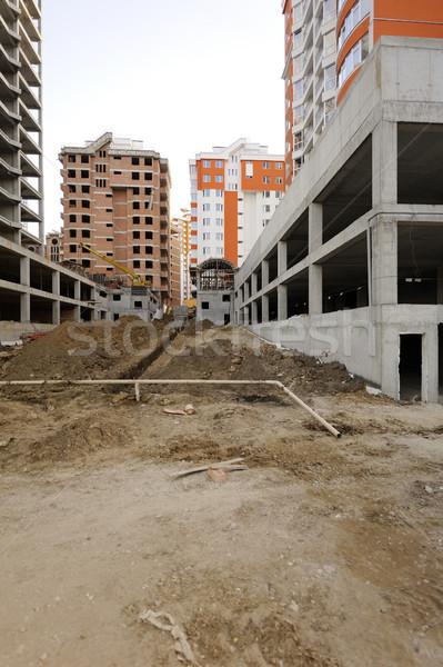 Construction work site Stock photo © ifeelstock