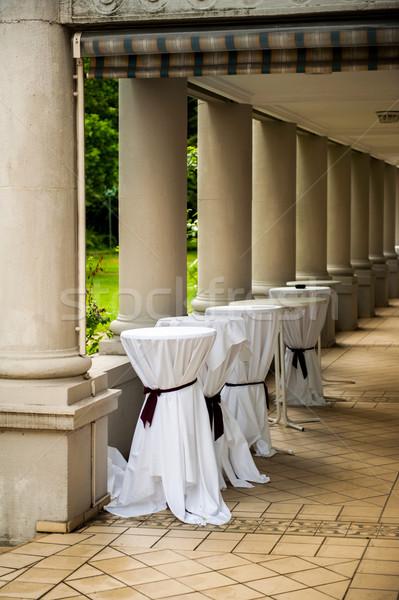 Mariage fête préparation couvert bar Photo stock © ifeelstock