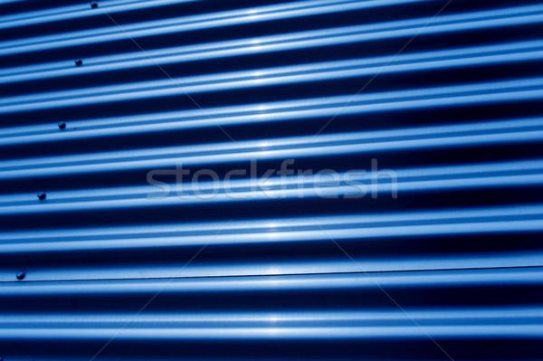 Corrugated iron structure Stock photo © ifeelstock