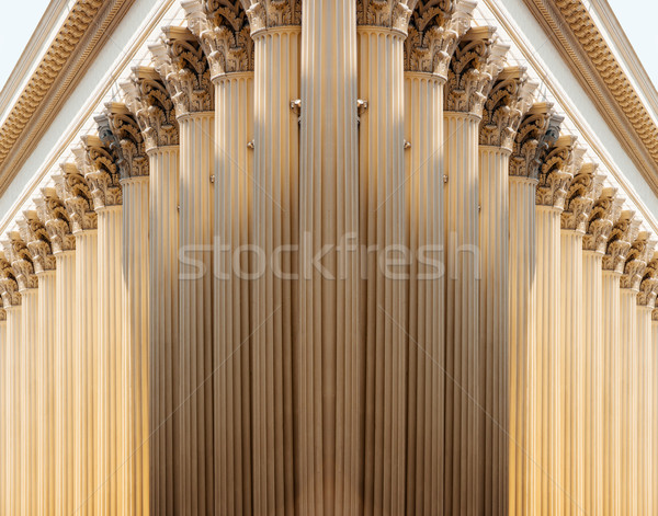 Pillars in row Stock photo © ifeelstock