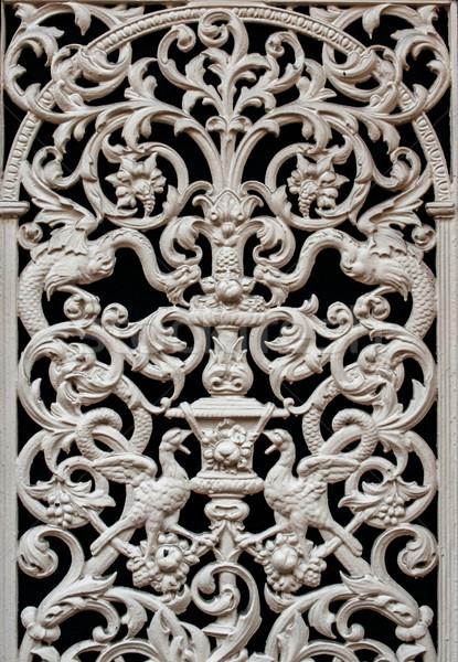 古い 装飾的な 詳細 鉄 装飾された ストックフォト © ifeelstock