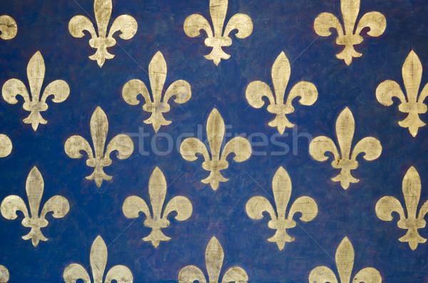 Fleur de lis wallpaper Stock photo © ifeelstock