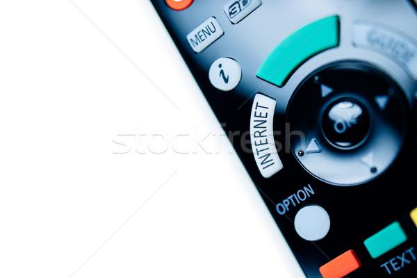 リモコン テレビ インターネット 現代 コピースペース ストックフォト © ifeelstock