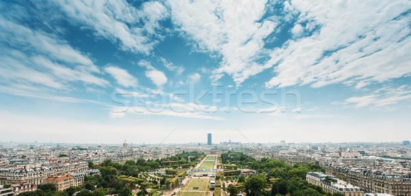 Paris skyline Stock photo © ifeelstock