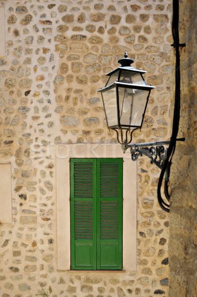 узкий улиц Майорка типичный Средиземное море окна Сток-фото © ifeelstock
