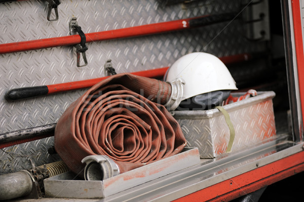 Firefighting truck equipment Stock photo © ifeelstock